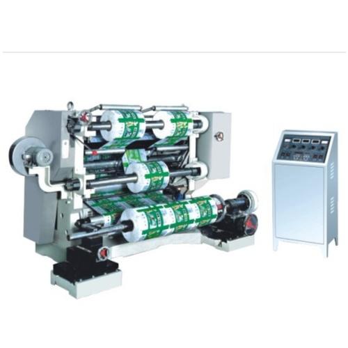薄膜卷纸立式自动分条机