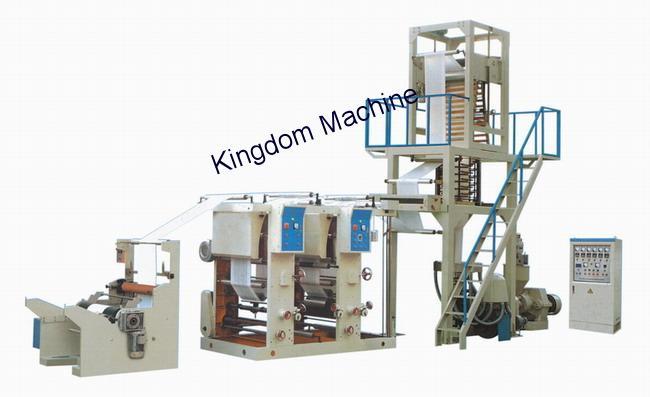 Film Blowing Machine with Gravure Printing Machine In Line